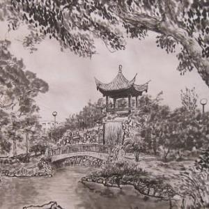福州園の風景2