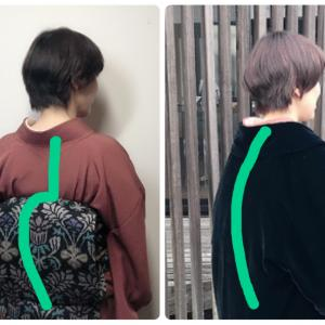 老け見え防止!羽織ものを着たときは、姿勢に気を付けて!