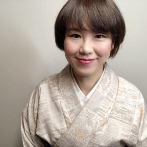 母のお譲り結城紬と、浦野理一さんの帯をコーデしてみる、の巻