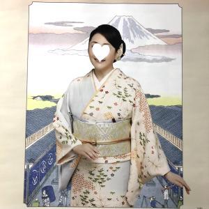 カレンダーの松坂慶子さんも道明♡