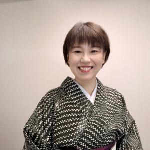 バッタのつづれ帯!9月に重宝する紗紬の着物コーデ!