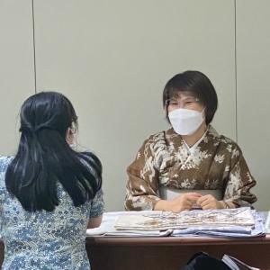 東京での着物コーディネート相談を終えて感じたこと。今週は大阪でコーデ相談!
