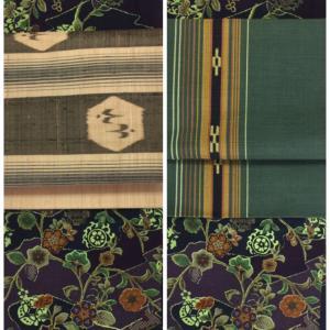 琉球帯を着こなしたい!大人顔さんのための、琉球の素朴系帯の着こなし方。