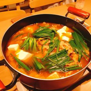 11月1日①昨日の晩ご飯は海鮮キムチ鍋でした!
