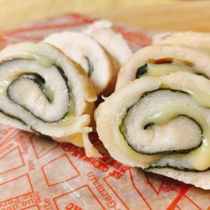 【ダイエットごはん】味付け1つ&たった3分で!ささみの海苔チーズ巻き