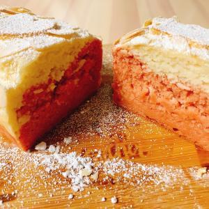 【ヘルシーパン】低糖質&グルテンフリー☆発酵不要!2色のふわふわ米粉パン