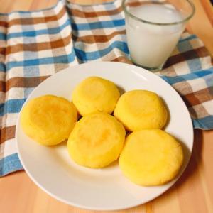 【フライパンパン】発酵不要☆甘〜いカルピスたまごパン