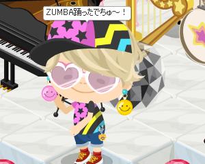 ZUMBAイベント見に行ったら踊ってもたでちゅ~!