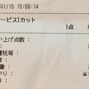 年金暮らしには980円カットで満足でちゅ~!