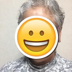 ホワイトヘアーでZUMBA復帰でちゅ~!