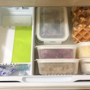 冷凍庫も見える化!冷凍ストックをもっと活用したい