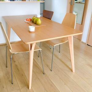 【53平米に4人暮らし】狭いわが家が敢えて選んだ大きなダイニングテーブル