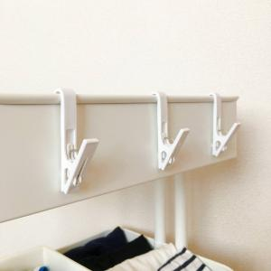 IKEAの「ロースコグ」とセリアの「ハンガージョイントピンチ」の組合せが使える!おすすめしたい使い方