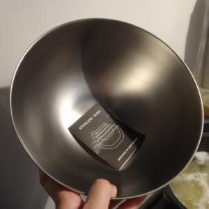 頻繁に使うのに、お金をかける人が少ないという調理用ボウル