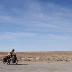 砂漠の友人〜Yelabad北西130kmまで
