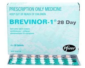 経口避妊薬ブレビノール-1(Brevinor-1)112錠のご案内です🤡