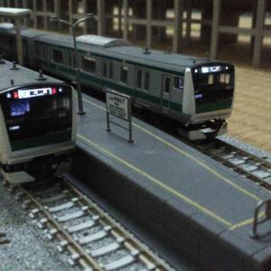 埼京線E233系を2編成走行…