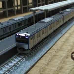 相鉄線と埼京線…