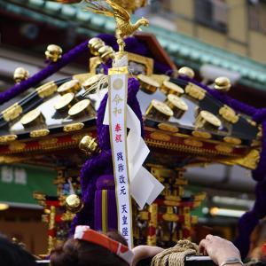 スローシャッターにも挑戦!浅草 三社祭 2019