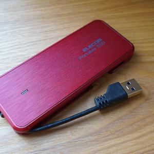 デザインにこだわりたい人にもおすすめ!ケーブル収納型の外付けSSDがすごかった