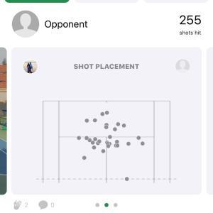 テニスとAI分析 (SwingVision)
