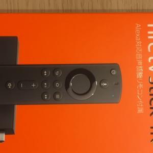 自宅のTVで簡単にアマゾンプライムを見る方法(^ν^)【Amazon fire  TV stick 4k】