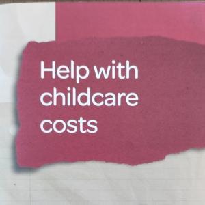 【3歳未満対象】Childcare subsidyを申請した