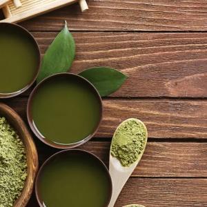 健康を気にする人におすすめ!粉末タイプの緑茶!