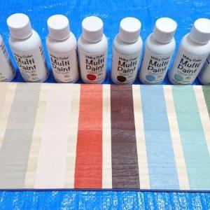 キャンドゥの「水性塗料(ペンキ)」全10色を買ったよ。色見本と比較、おすすめレビュー【100均】