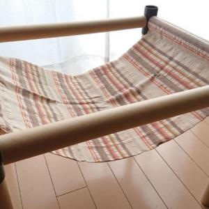 【100均diy】ニャンモック(猫用ハンモック)はセリアの材料で簡単に手作りできるらしい。ハンドメイドのやり方