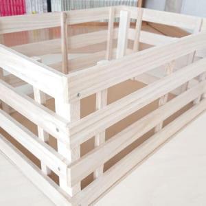 【100均diy】木製の収納ボックスを手作り。おしゃれで明るいデザイン木箱