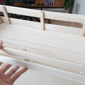 【100均diy】木製ストレージボックスを手作り。材料はダイソーで購入