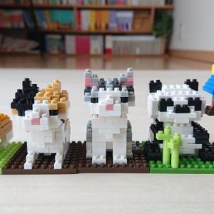 【レゴ風】100均ダイソーのプチブロック(9種)で遊ぶ。簡単レビューと作り方解説