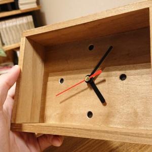 【100均DIY】ダイソーの時計をリメイクするよ。オリジナルデザインの置き時計にチェンジ【作り方】