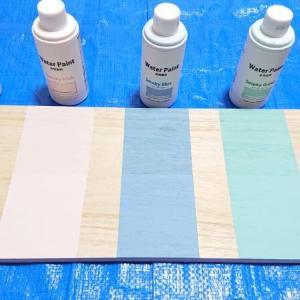 セリアの「水性塗料(ペンキ)」全5色を買ったよ。色見本と比較、おすすめレビュー【100均】