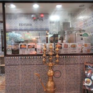 中野に出来たアラブ料理と水煙草の店「ゼノビア東京」