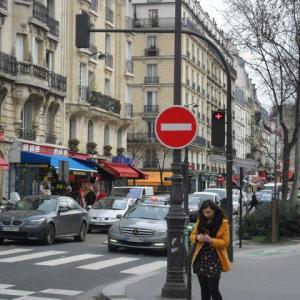 2013年1月末のパリ・ナンテールへの旅・最終回~パリ観光(3)街をウロウロ編~