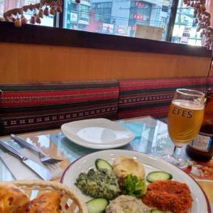 禁酒令の合間に行った新宿のトルコ料理店「ウスキュダル」