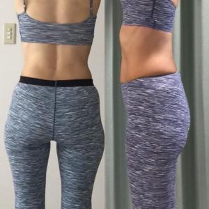 Nちゃんの体形変化比較写真