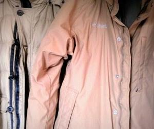 グッドタイミングで冬物コートを無料で入手