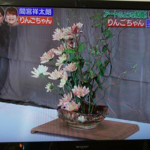 【生け花】生け花講師としてテレビ出演しました~