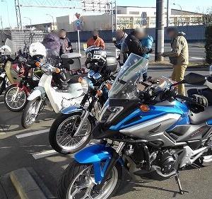 カブツーへプチ参加からのバイク見学