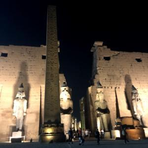 エジプトの旅②〜ルクソール神殿