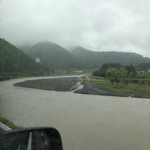 6/13 雨の中興津川で頑張ってみた