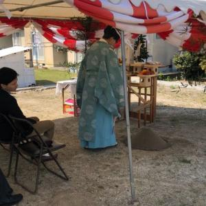 平成最後の日 無事に終わった地鎮祭