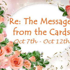 10月7日~10月12日: カードからのメッセージ