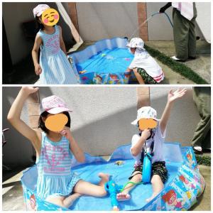 貯金箱作りと水遊びで、THA小学生の夏休み(^^♪