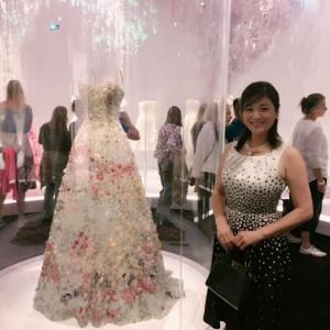 クリスチャン・ディオールのドレス展示会