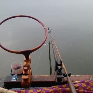 椎の木湖 ヘラブナ釣り 両団子では厳しい
