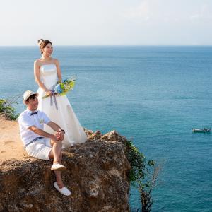 ご家族の皆様もご一緒に、絶景バランガンビーチへウェディングフォトツアー!